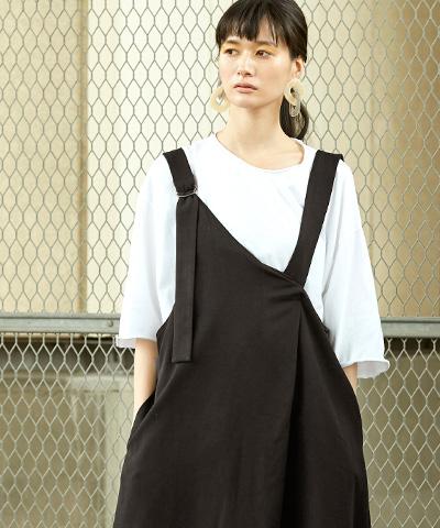 Aライン2wayジャンパースカート