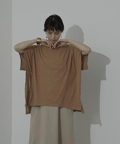 バックデザインケープTシャツ〔メール便可/80〕